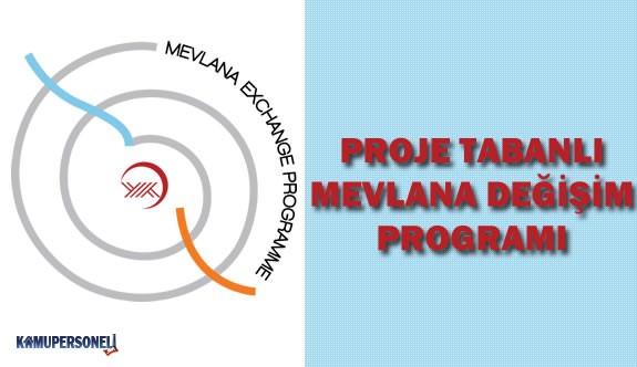 YÖK Proje Tabanlı Mevlana Değişim Programı Duyurusu