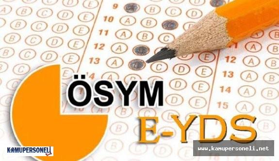 2016/4 e-YDS Sınav Sonuçları Açıklandı