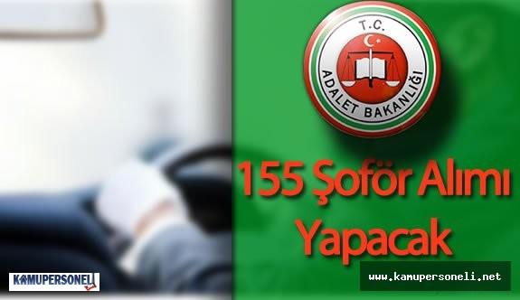 Adalet Bakanlığı 155 Şöför Alımı Yapacak (Adalet Bakanlığı CTE Şoför Alımı Şartları Neler?)
