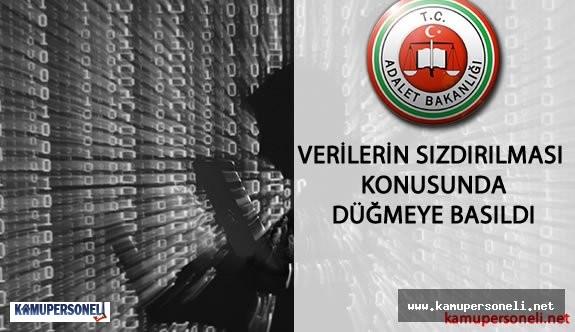 Adalet Bakanlığı 50 Milyon Vatandaşın Kimlik Bilgisinin Sızdırılması Konusunda Düğmeye Bastı