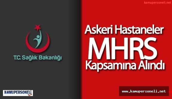 Askeri Hastaneler Merkezi Hekim Randevu Sistemine (MHRS) Dahil Ediliyor