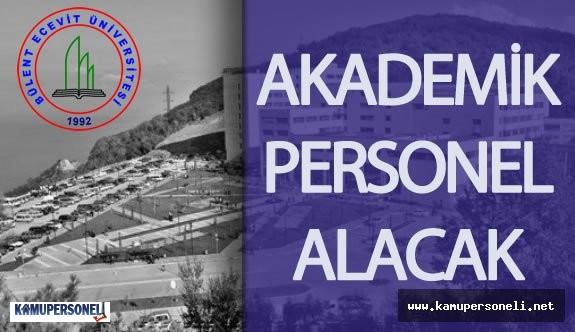 Bülent Ecevit Üniversitesi Akademik Personel Alım İlanı Devlet Personel Başkanlığı'nda Yayımlandı