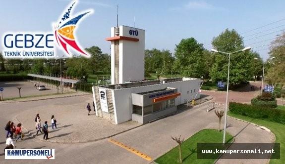 Gebze Teknik Üniversitesi Akademik Personel Alımı