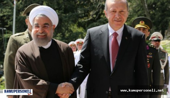 İran Cumhurbaşkanı Ruhani, Ankara'da Cumhurbaşkanı Erdoğan ile görüşüyor
