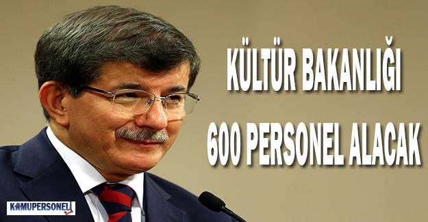 Kültür Bakanlığı'na 600 Personel Alınacak