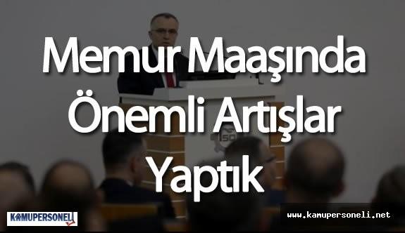 """Maliye Bakanı Naci Ağbal'dan """"2016 Memur Zammı"""" Açıklaması Geldi"""