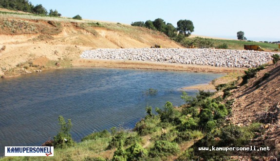 Manisa'daki iki gölete kamulaştırma kararı