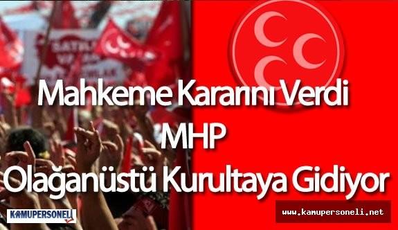 MHP 'de Olağanüstü Kurultay İçin Mahkeme Kararı Açıklandı( MHP Genel Başkan Seçimine Gidecek )