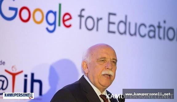 Milli Eğitim Bakanlığı ve Google Arasında Eğitim İş Birliği