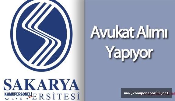 Sakarya Üniversitesi Avukat Alımı Yapacak