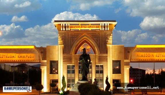 Selçuk Üniversitesi 22 Akademik Personel Alacak
