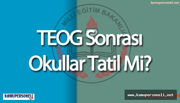 TEOG 2. Dönem Sınavı İçin Geri Sayım Başladı ( 29 Nisan 2016 'da  Okullar Tatil Olacak Mı)