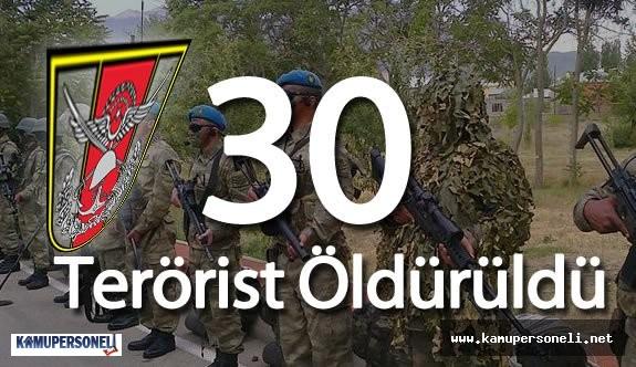 """TSK : """"11 Nisan 2016 Tarihinde 30 Terörist Öldürüldü"""""""