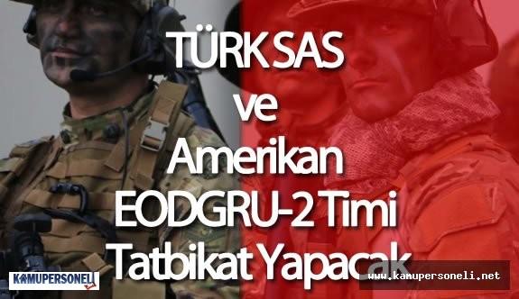 Türk SAS Timi ve Amerikan EODGRU-2 Timi Ortak Tatbikat Yapacak