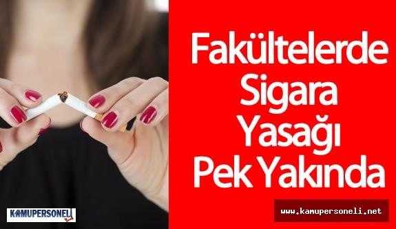 Üniversitelerde Sigara Satışı Yasağı Geliyor