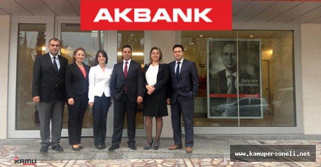 2016 Akbank Türkiye Geneli En Az Lise Mezunu Personel Alım İlanı