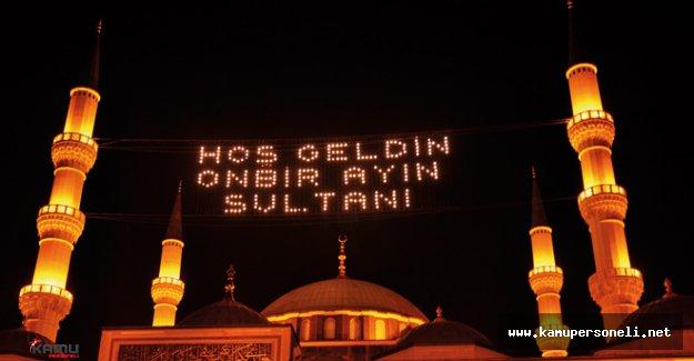 2016 Diyanet İmsakiyesi İstanbul, Ankara ve İzmir için Sahur ve İftar Saatleri