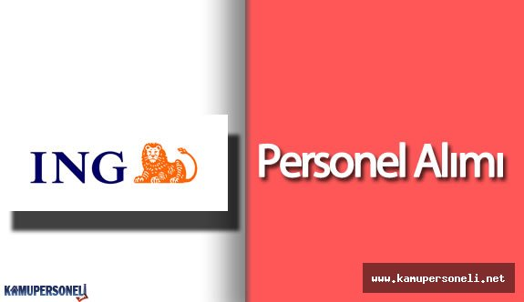 2016 ING Bank Personel Alımı