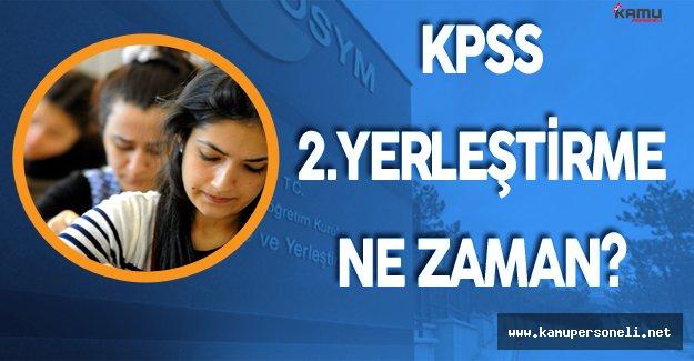 2016 KPSS Önlisans Sonuçları ile Tercihler Ne Zaman Yapılacak? ( KPSS İkinci Yerleştirme)