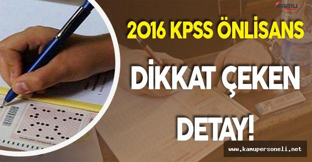2016 KPSS Önlisans 'ta Dikkat Çeken Detay 2 Yılda 500 Bin Artış