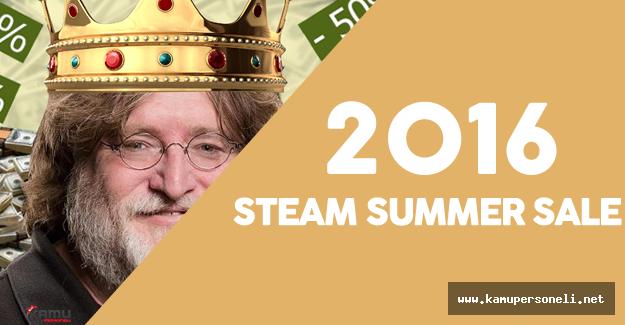 2016 Steam Summer Sale - Steam Yaz İndirimleri Başladı