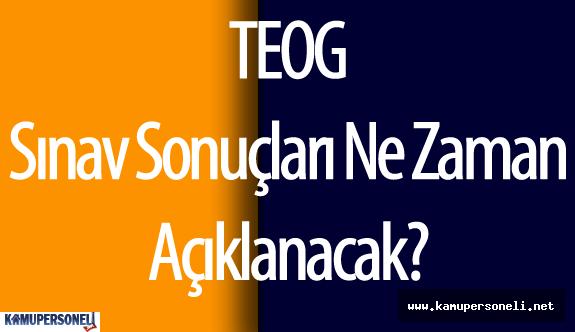 2016 TEOG Sınav Sonuçları Ne Zaman Açıklanacak?