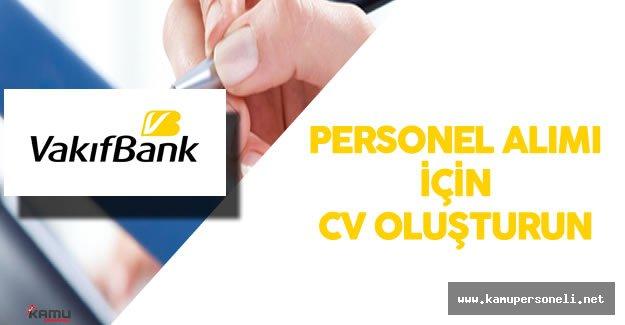 2016 Vakıfbank Personel Alımı