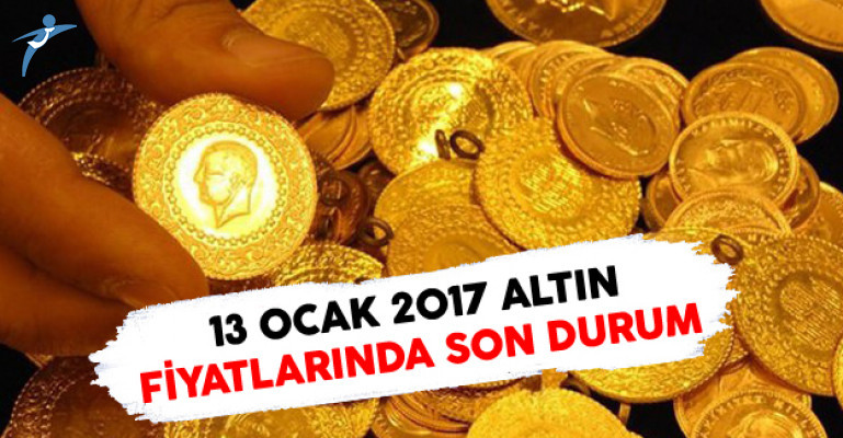 13 Ocak 2017 Altın Fiyatlarında Son Dururm