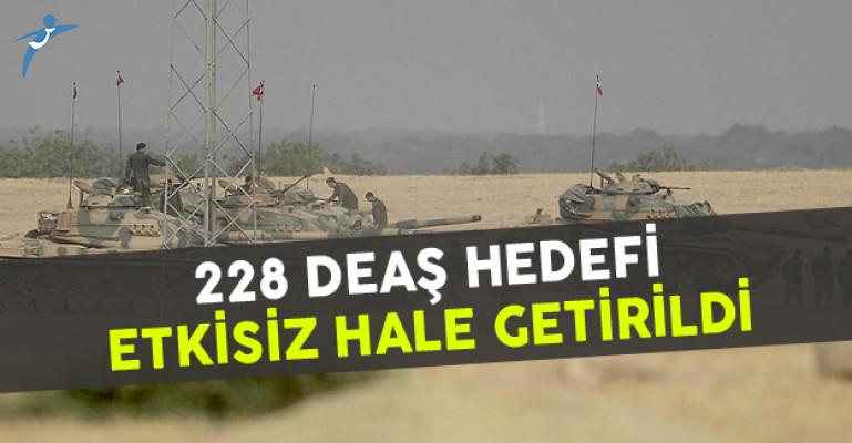 228 DEAŞ Hedefi Etkisiz Hale Getirildi