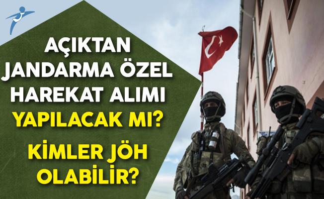 Açıktan Jandarma Özel Harekat Alımı Yapılacak Mı? Kimler JÖH Olabilir?