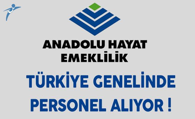 Anadolu Hayat Emeklilik Türkiye Genelinde Personel Alımı Yapıyor