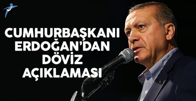 Cumhurbaşkanı Erdoğan'dan Döviz Açıklaması: Risk Almadan Bu İş Yürümez