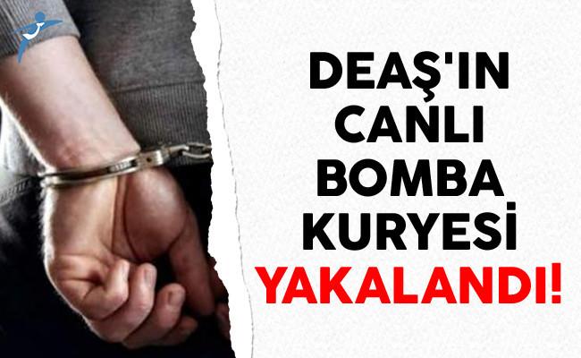 DEAŞ'ın Canlı Bomba Kuryesi Yakalandı
