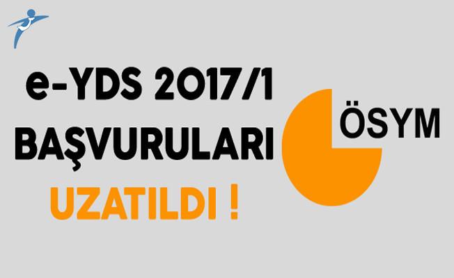 e-YDS 2017/1 Başvuruları ÖSYM Tarafından Uzatıldı !