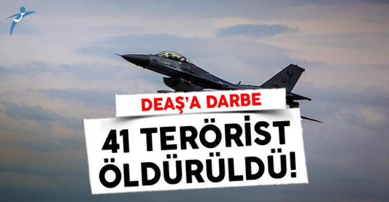Fırat Kalkanı Harekatında DEAŞ'a Darbe: 41 Terörist Öldürüldü