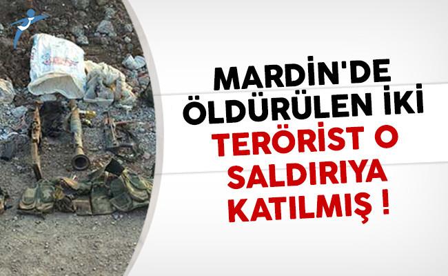 Mardin'de öldürülen iki teröristin parmağı başka saldırıda da varmış