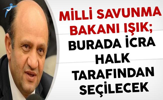 Milli Savunma Bakanı Işık'tan Anayasa Değişikliği 2. Tur Oylamalarına İlişkin Açıklama: Burada İcra Doğrudan Halk Tarafından Seçilecek