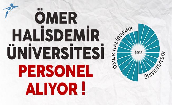 Ömer Halisdemir Üniversitesi Personel Alıyor