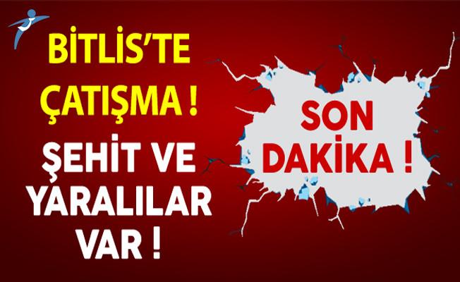 Son Dakika: Bitlis'ten Acı Haber ! Şehit ve Yaralılar Var