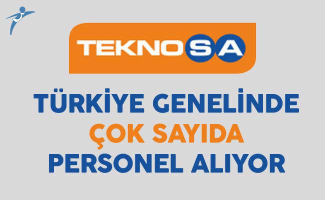 Teknosa Türkiye Genelinde Çok Sayıda Personel Alıyor