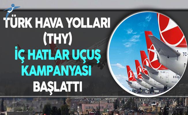 Türk Hava Yollarından (THY) İç Hat Seferlerine Kampanya