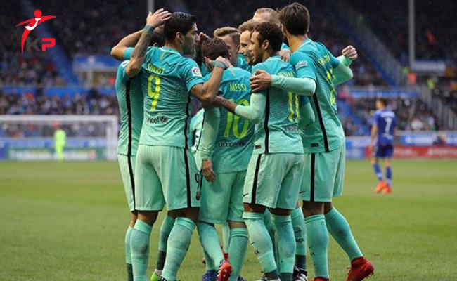 Barcelona'dan Deportivo Alaves'e Gol Şov!