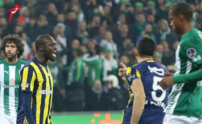 Fenerbahçe Bursa'da Beraberliğe Razı Oldu