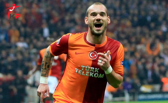Galatasaray'da Sneijder Krizi Yaşanıyor!