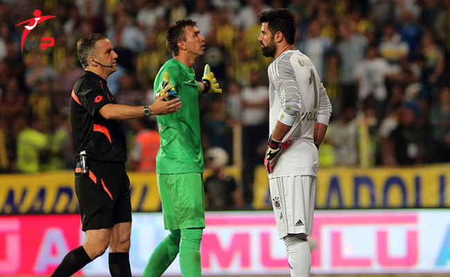 Galatasaray'lı Fernando Muslera'dan Fenerbahçe'li Volkan Demirel Yorumu
