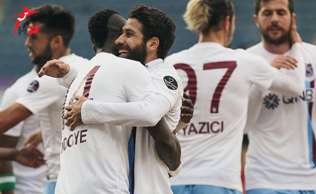 Trabzonspor Güçlü Rakibi Osmanlıspor'u Yenmeyi Bildi