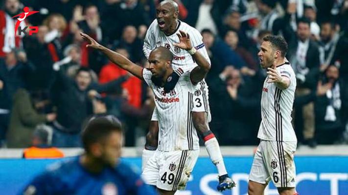 Karakartal Çeyrek Finalde! Beşiktaş 4-1 Olympiakos