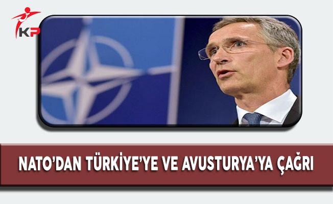 NATO'dan Türkiye ve Avusturya'ya çağrı