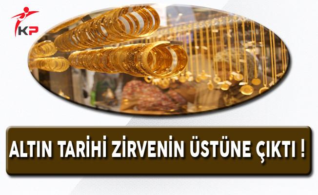 Altın Tarihi Zirvenin Üstüne Çıktı (17 Nisan 2017 Altın Fiyatları)