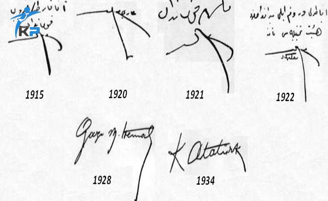 ÖSYM KPSS'de  Atatürk'ün İmza Değişikliğinin Nedenini Sordu ?